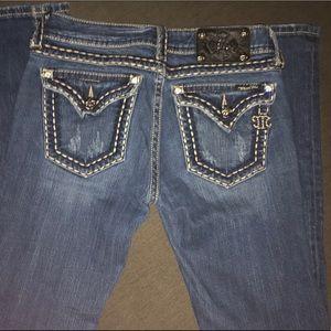 Miss me jeans , size 28